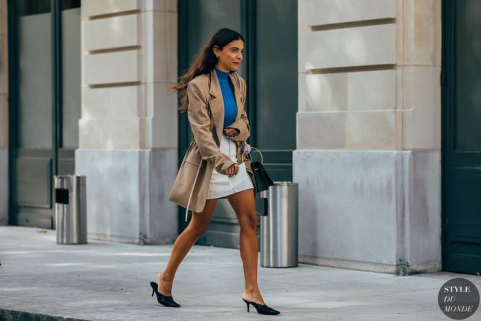 Paris SS 2019 Street Style: Georgia Tal