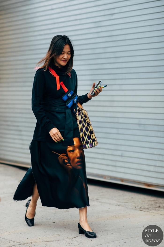 New York SS 2019 Street Style: Gia Seo