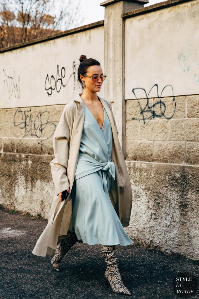 Milan FW 2019 Street Style: Lena Lademann