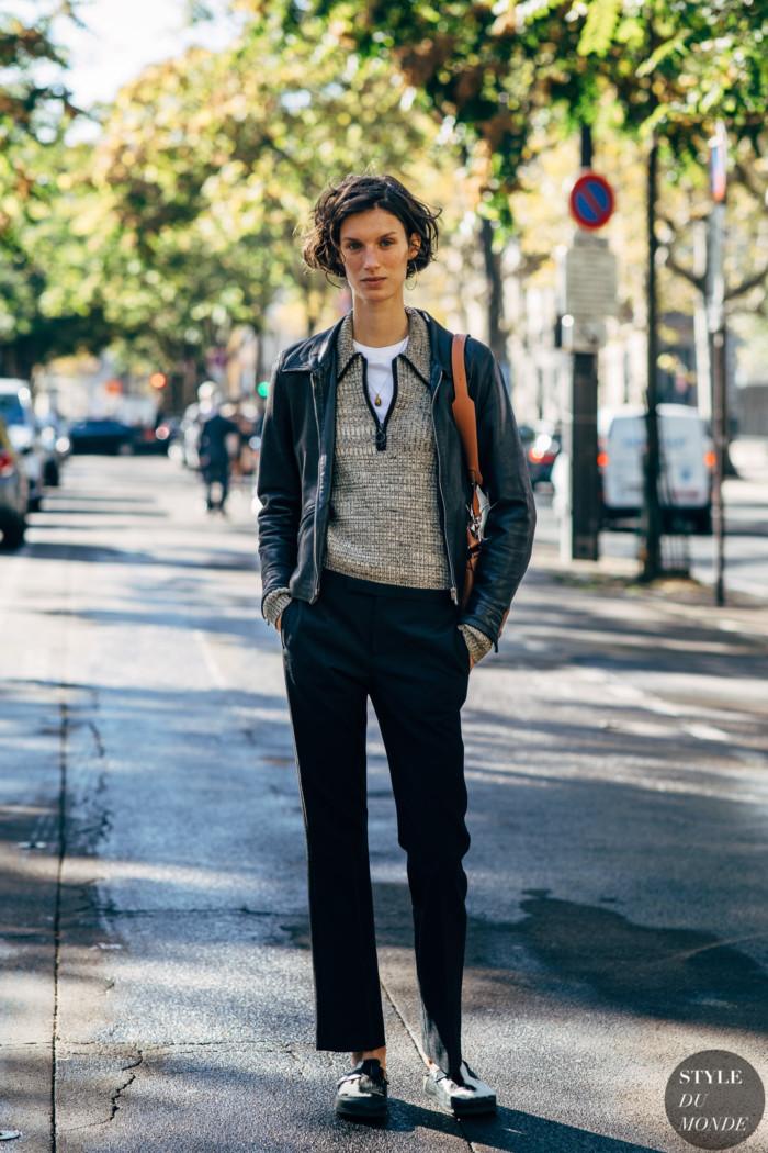 Paris SS 2019 Street Style: Marte Mei van Haaster