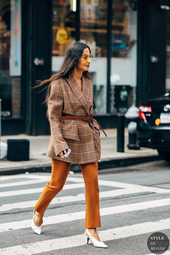 New York SS 2019 Street Style: Nausheen Shah