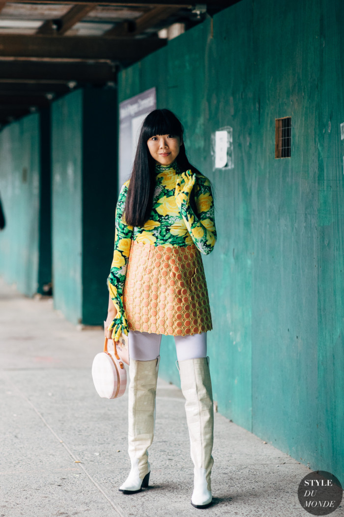 New York SS 2019 Street Style: Susie Lau