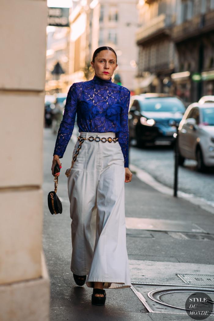 Haute Couture Fall 2018 Street Style: Tiffany Godoy