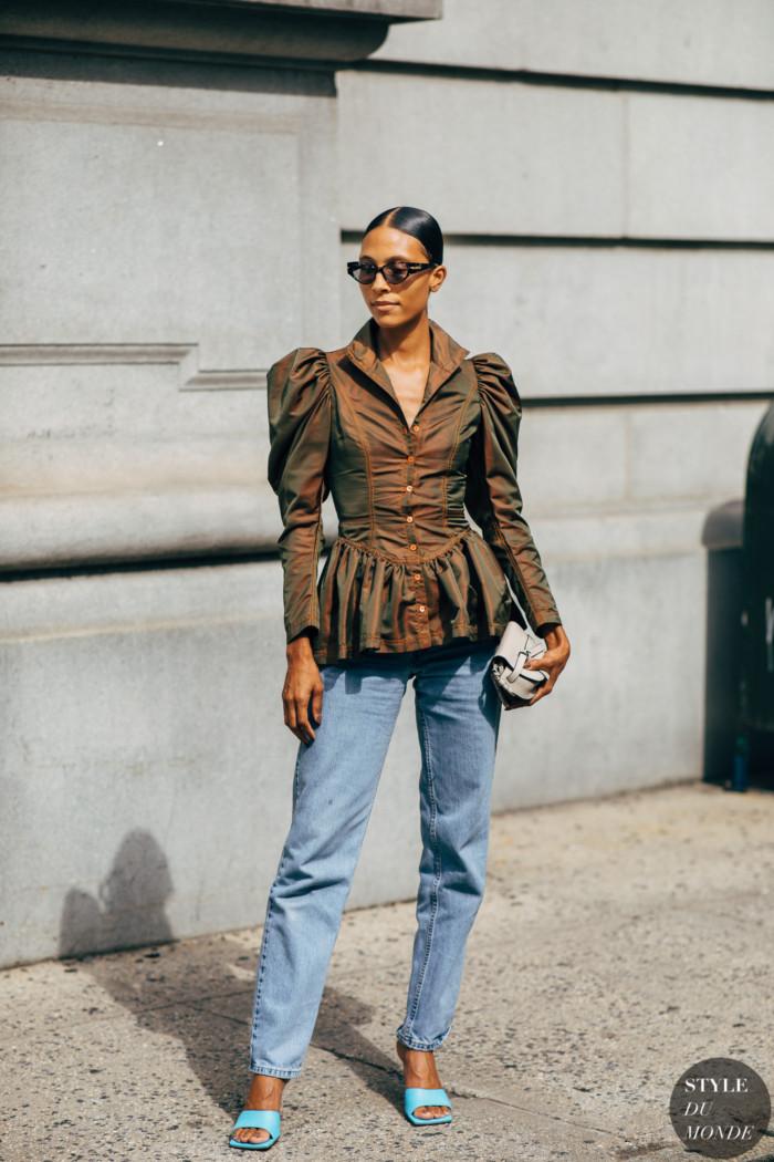 New York SS 2020 Street Style: Tylynn Nguyen