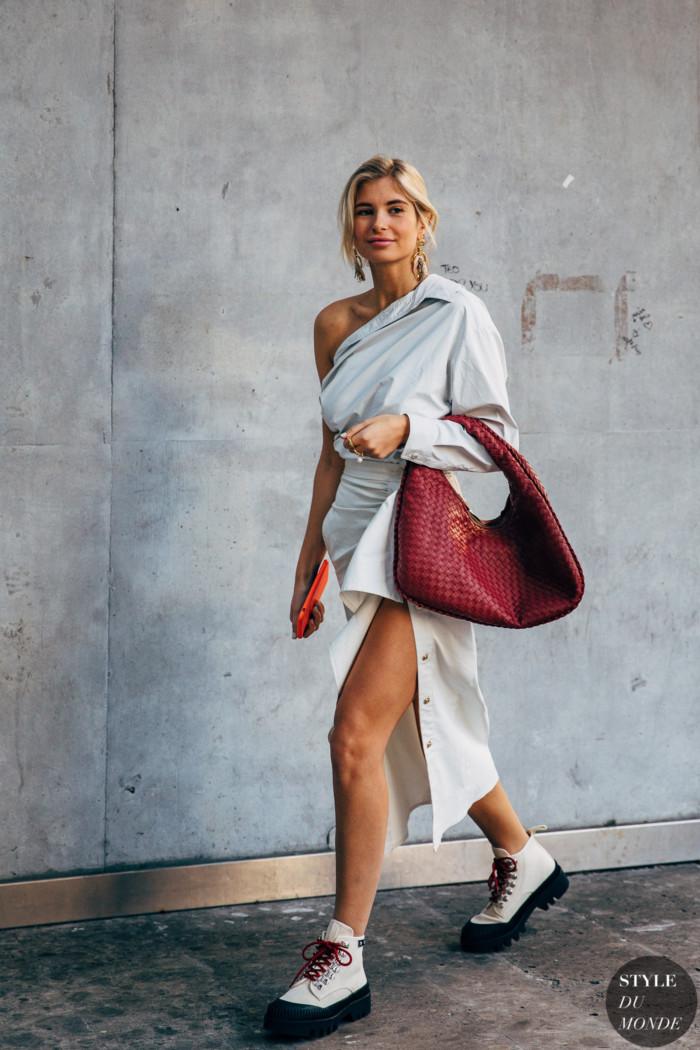 Milan FW 2019 Street Style: Xenia Adonts