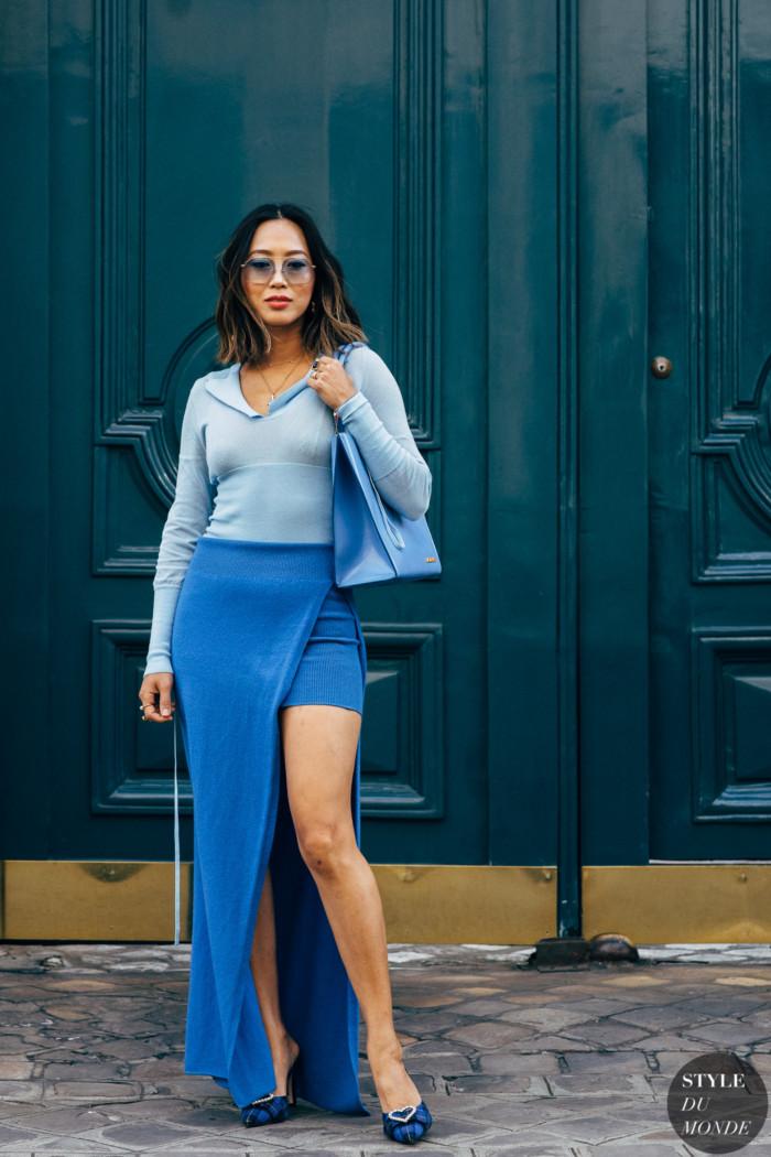 Paris SS 2019 Street Style: Aimee Song