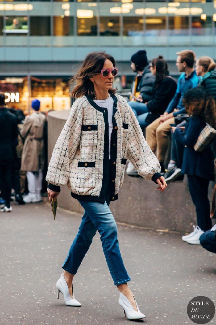London Fall 2020 Street Style: Alison Loehnis