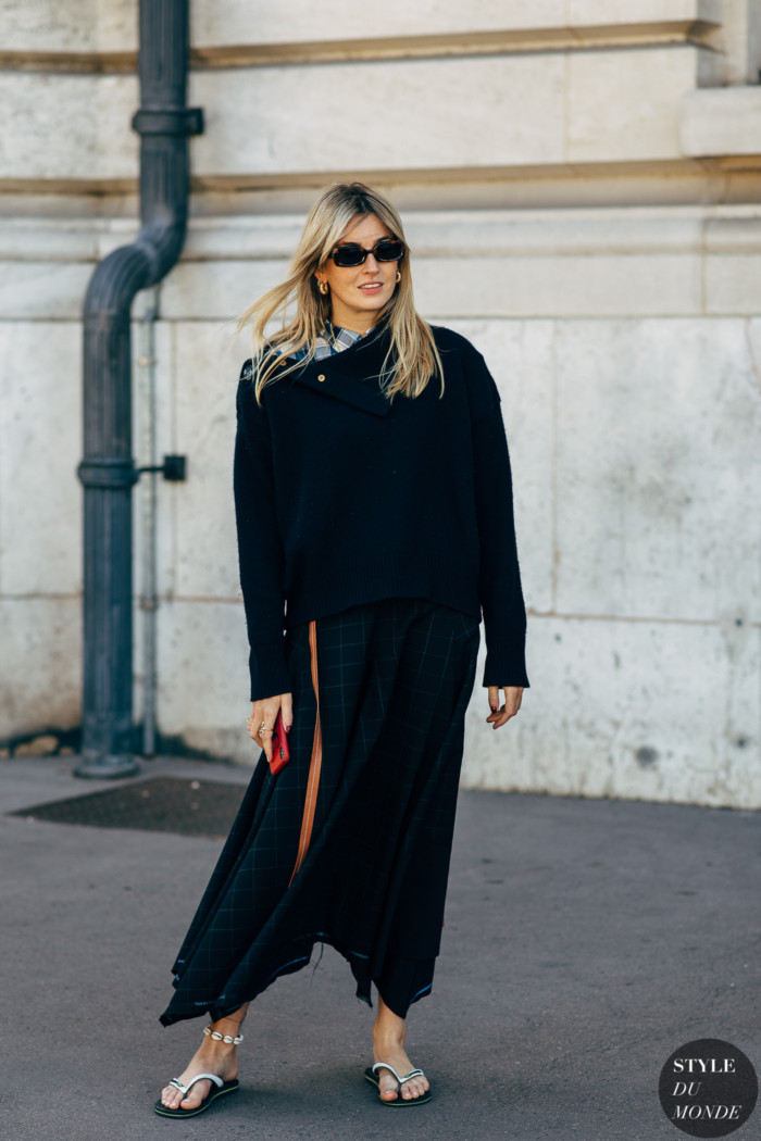 Paris SS 2019 Street Style: Camille Charriere