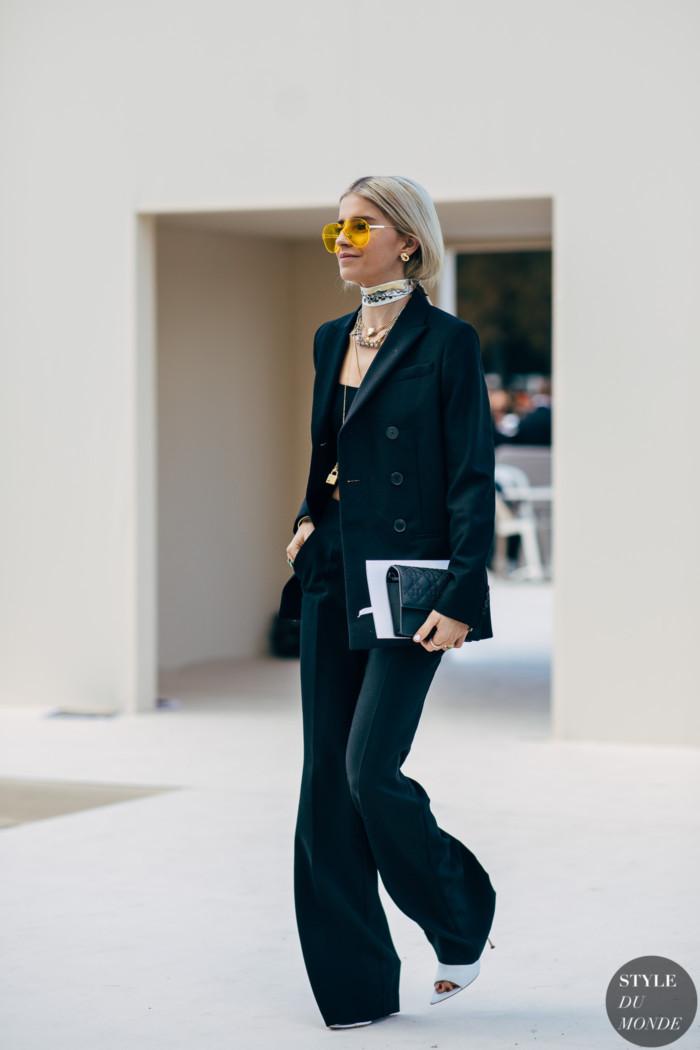 Paris SS 2019 Street Style: Caroline Daur