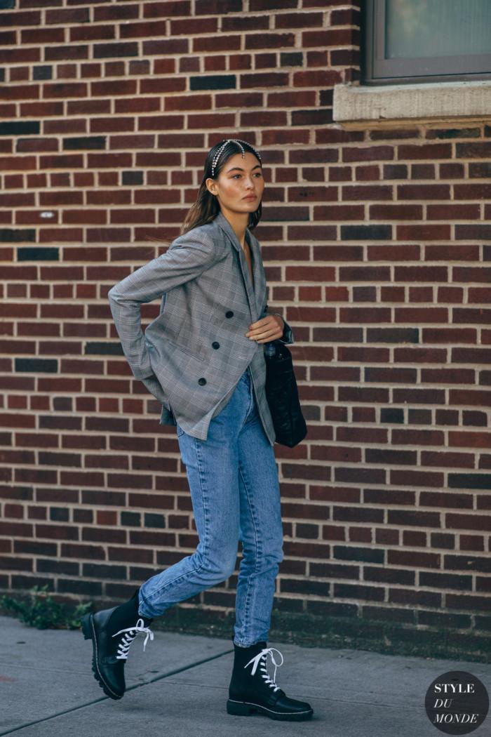 New York SS 2020 Street Style: Grace Elizabeth