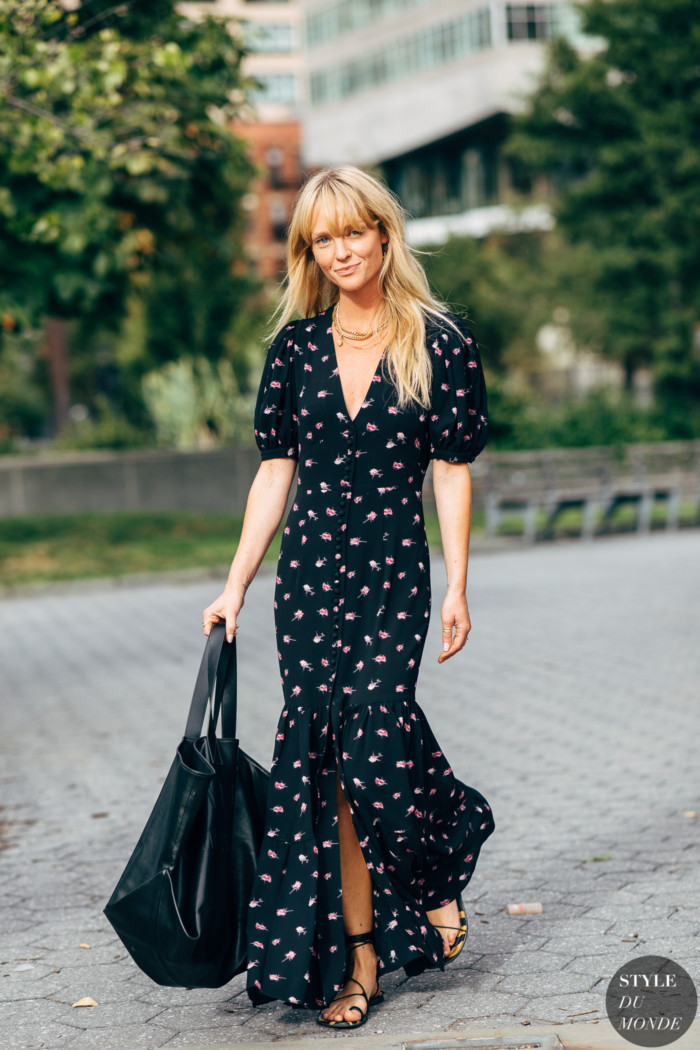 New York SS 2020 Street Style: Jeanette Friis Madsen