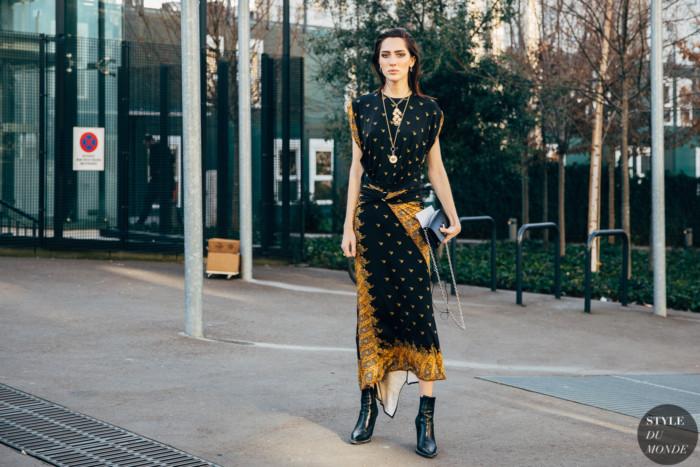 Paris FW 2019 Street Style: Teddy Quinlivan