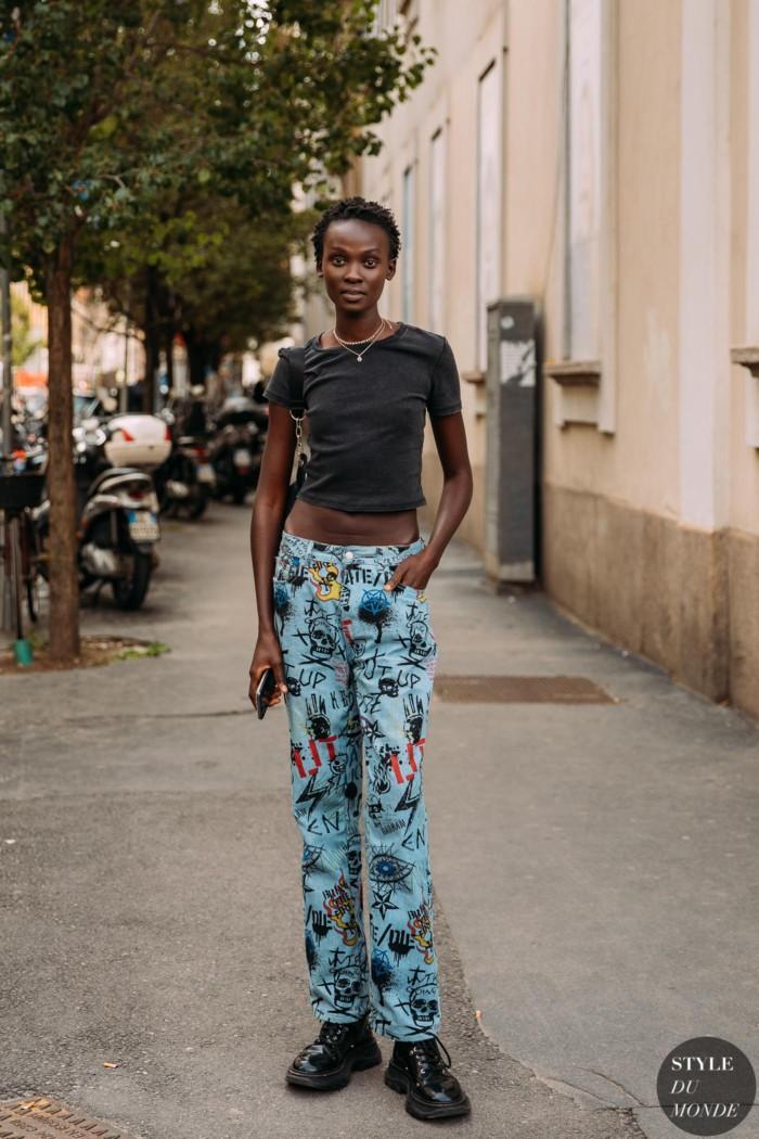 Milan SS 2021 Street Style: Aliet Sarah