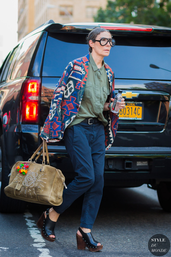 New York SS 2017 Street Style: Veronique Tristram